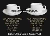 BoneChina CupSaucer