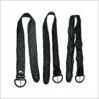 Knitted Leather Belts