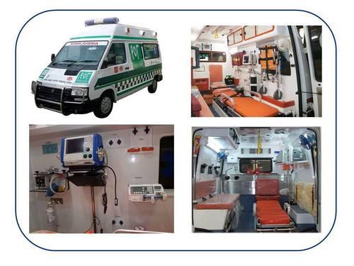 Advance Life Support Ambulance (ALS)