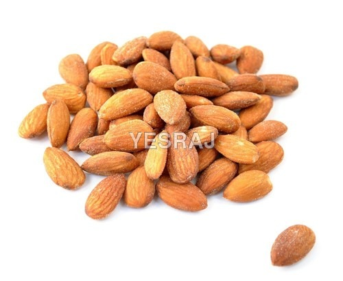 salty almonds