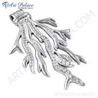 HOT Luxury Cubic Zirconia Silver Pendant