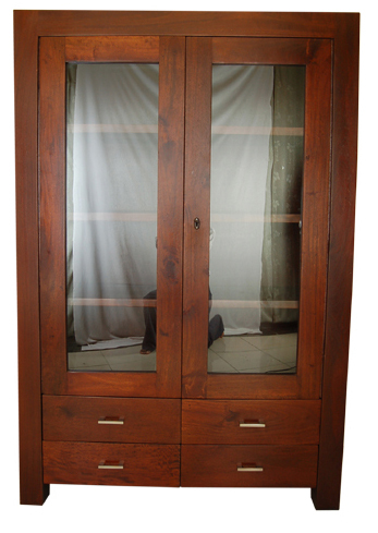 New Furniture-Almirah with Glass