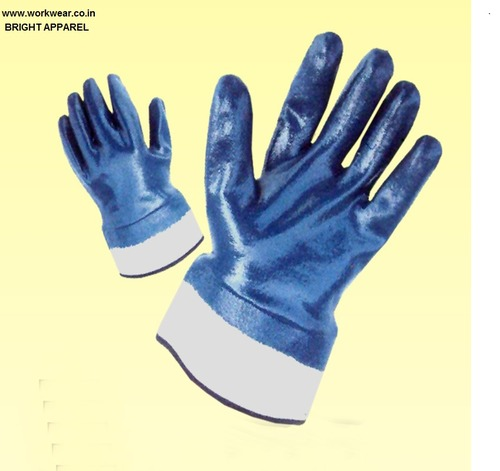 Nitrile Fully Dipped Gloves