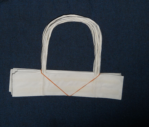 White Paper Rope Handle