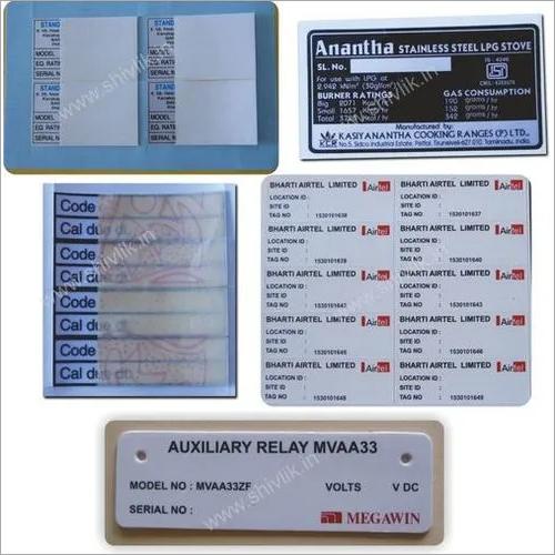 Serial No.labels