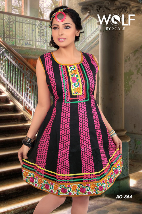 Printed Fashion Kurtis