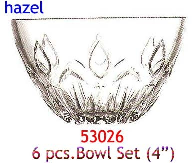Hazel Bowl Set 6 pc