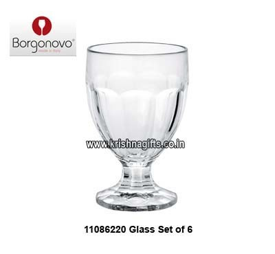 Borgonovo Glass Set of 6