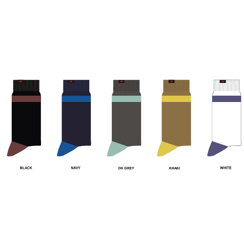 Soft Combed Cotton With Lycra Socks