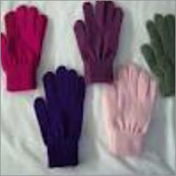 Hosiery Baniayan Multi Coloured Hand Gloves