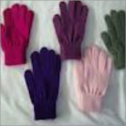 Hosiery Baniayan Multi Coloured Hand Gloves
