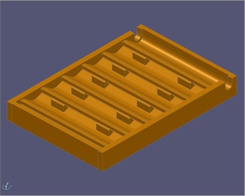 Shell Molding Pattern