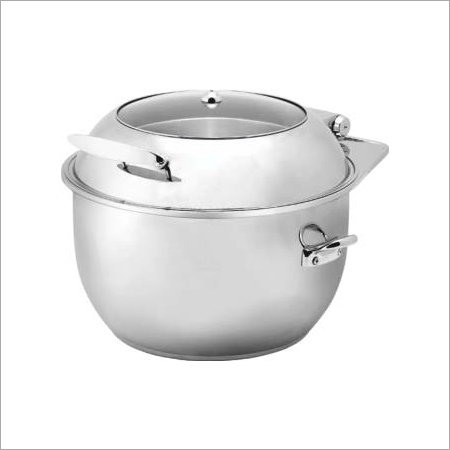 Round Glass Lid Soup Tureen