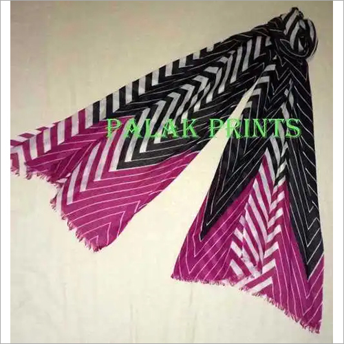 Colored Screen Printed Shawls