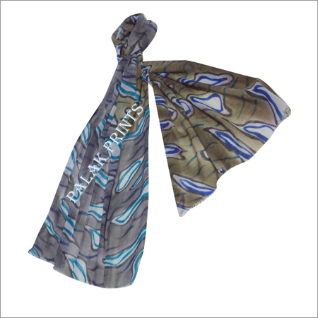 Wool Fancy Printed Stoles