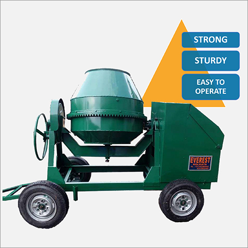 Green Simple Concrete Mixer
