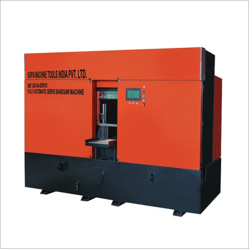 Fully Automatic Servo Band Saw Machine