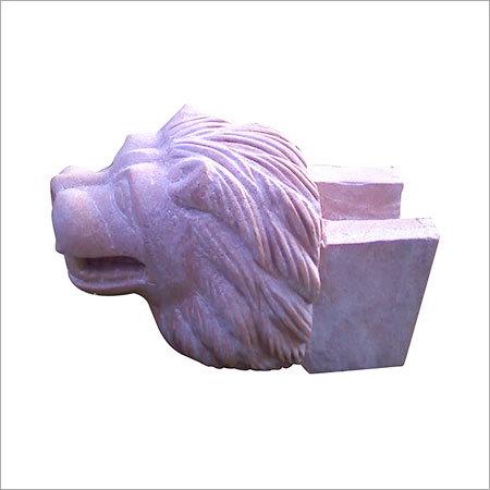 Stone Lion Figure