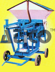 CONCRETE MIXER WITH HYDAULIC HOOPER