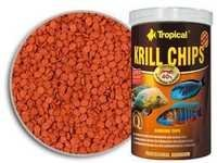 Tropical krill Chips 250ml/125gm