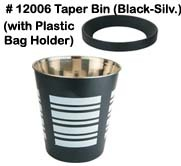 SS Taper Bin
