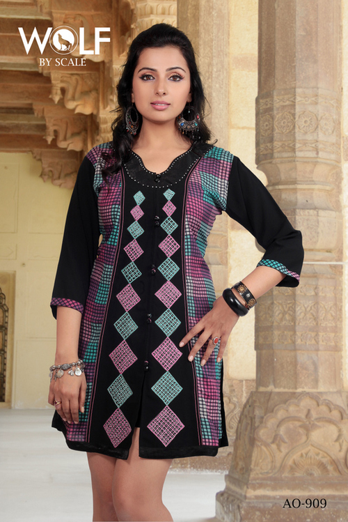 Ethnic Kurties