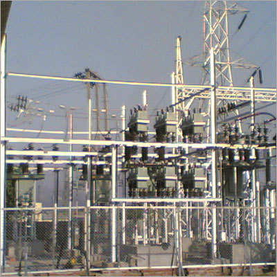 Electrical Transmission sub station and line