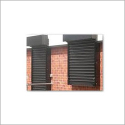 See Through Rolling Shutters