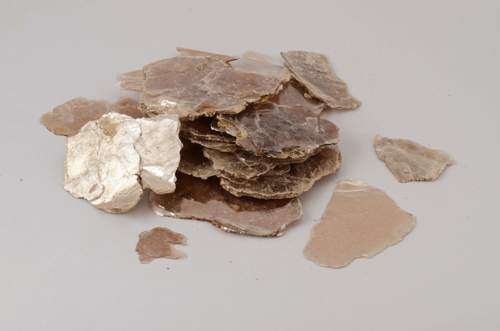 Muscovite Super White Mica Scrap