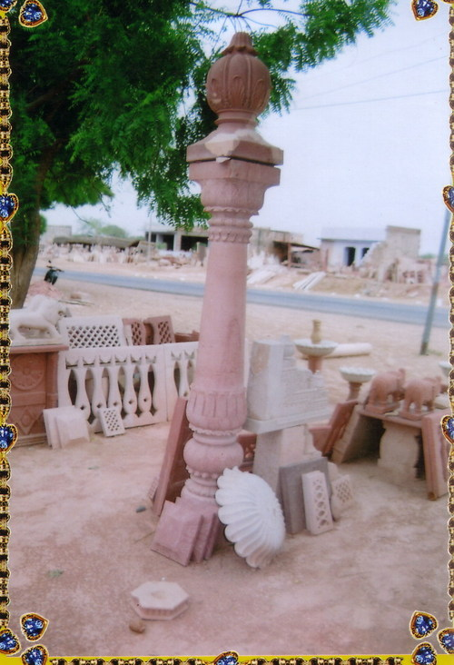 Handmade Stone Pillar