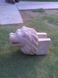 Stone Lion Head Article