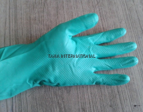 Rubber Nitrile Gloves