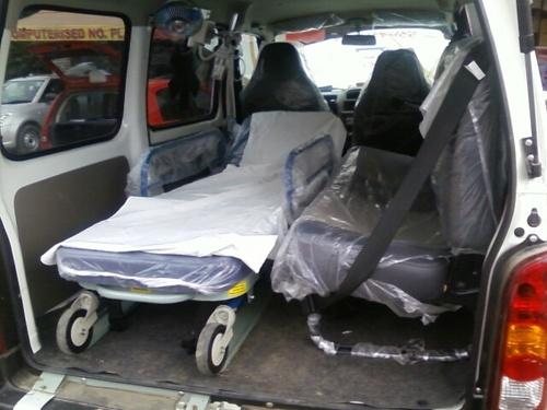 Fabrication Work Ambulance