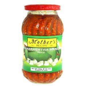 MR Maharashtra mango pickle