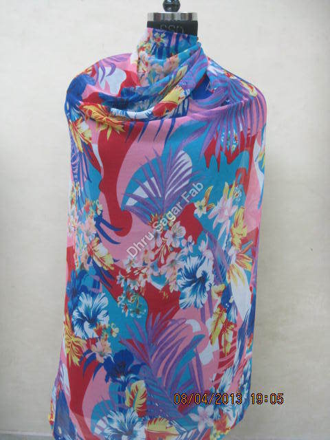 Polyester Floral Print