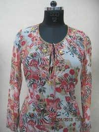Polyester Minaral Ciffon Print