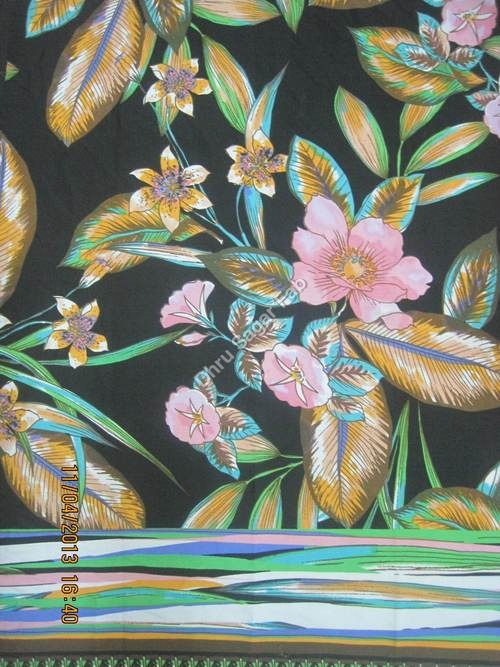Polyester Dull Crepe Fabric