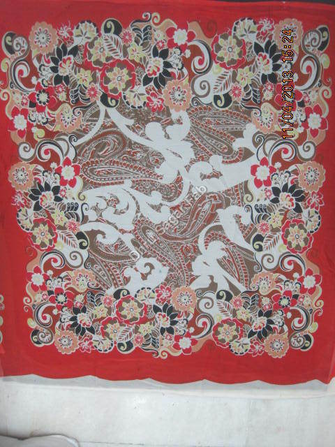 Polyester Chiffon Scarf Fabric