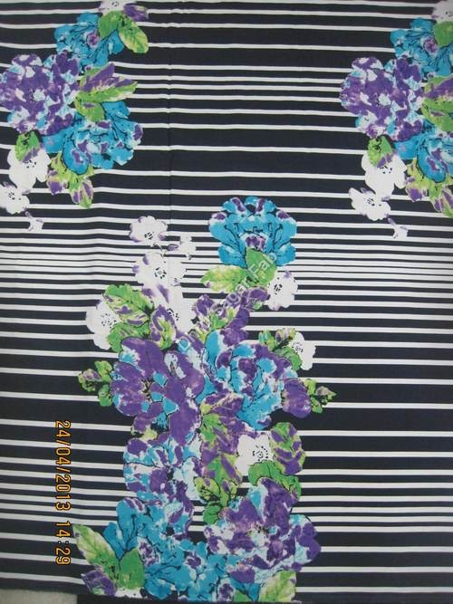 Polyester Crepe Print Fabric