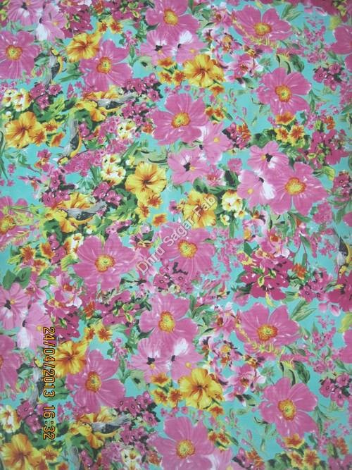 Polyester Georgette Floral Print