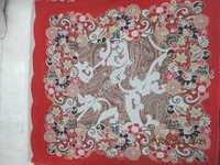Polyester Heavy Ciffon scarf Print