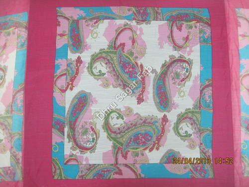Polyester 50 grams Chiffon Scarff Print