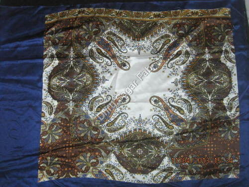 Printed Polyester Satin Fabric
