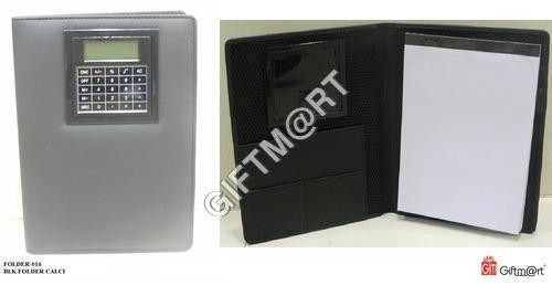 Leatherite Folder With Calculator