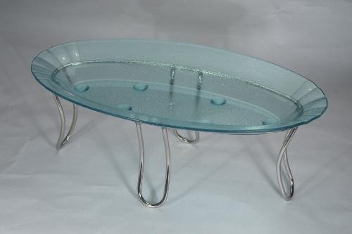 Glass Oval Platter