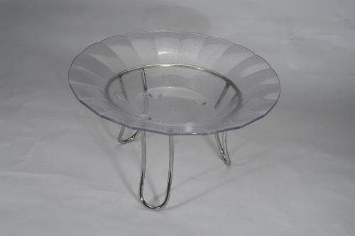Glass Round Platter