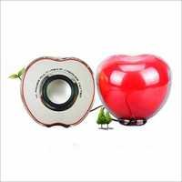 Apple Red Speakers