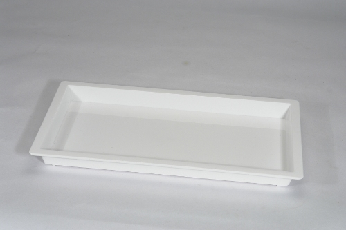 White Cafeteria Tray