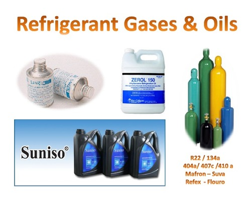 Oils & Refrigeration Gases