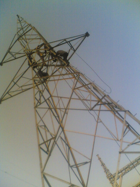 132/220  KV  Line Tower Transmission